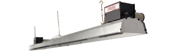 Low Intensity Infrared Heaters - CoRayVac System